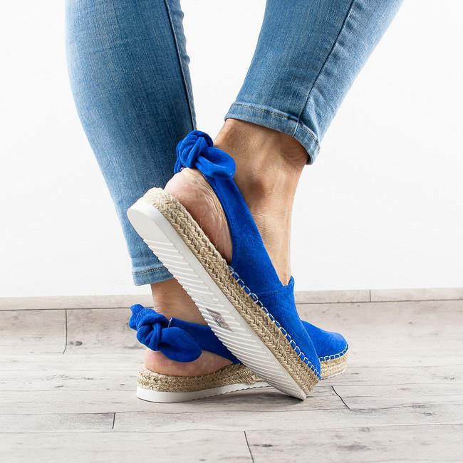 7cc086fddd Beststyle.sk- modré sandále