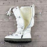Biele snehule