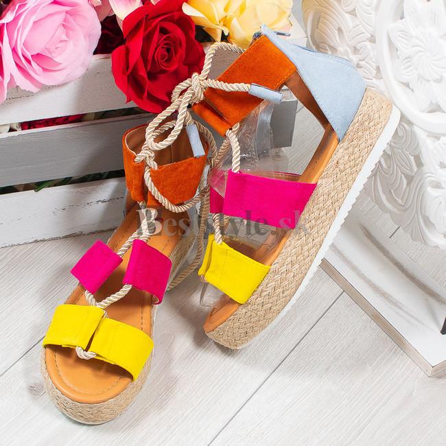 20b6208f7 Farebné sandále zväčšiť obrázok