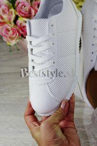 Dámske biele tenisky
