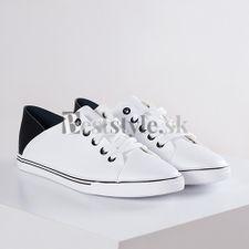 Bielo-čierné tenisky