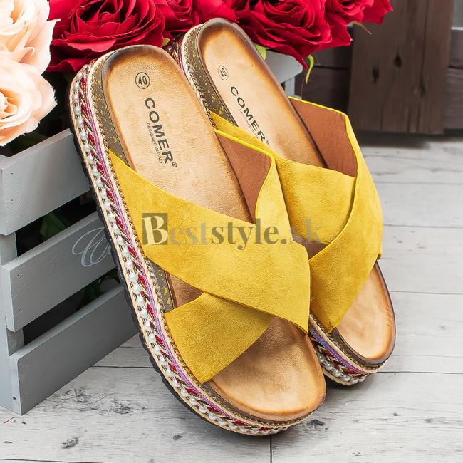 b229e540b307 Žlté šlapky zväčšiť obrázok